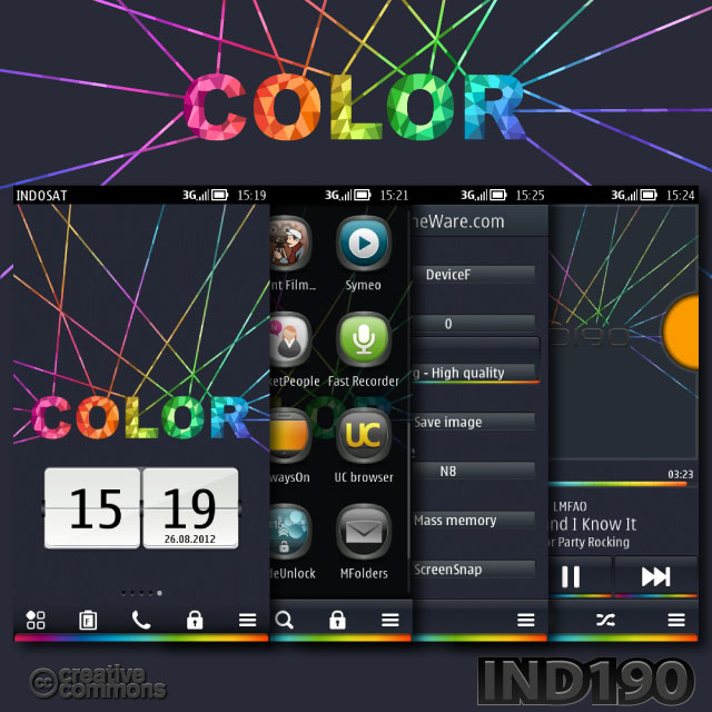 Nokia Belle Theme   Just Color by IND190